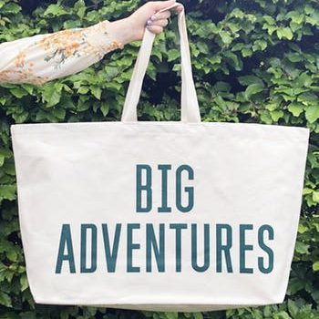 Big Adventures – Really Big Canvas Bag