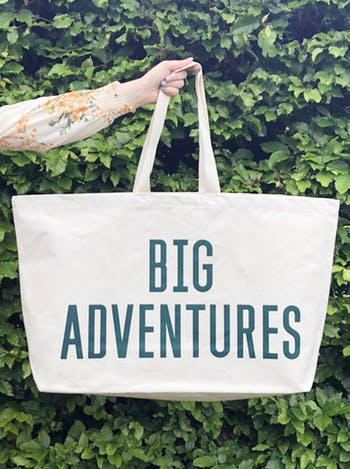 big adventures really big bag