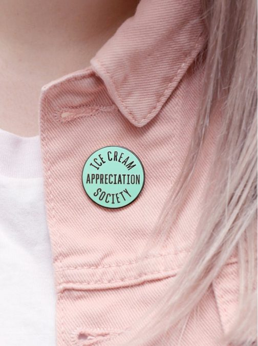 enamel pin for denim jacket