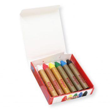Kitpas Art Crayons – Set of 6