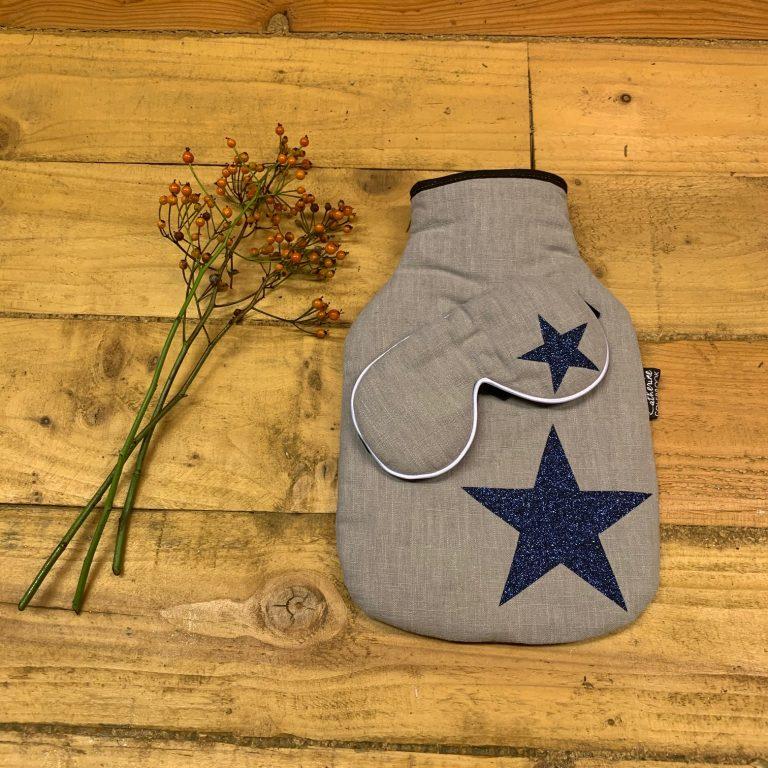 blue star hot water bottle