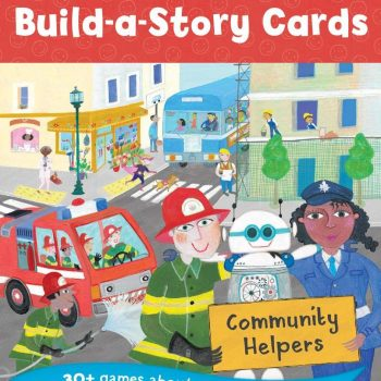 Children's Build A Story Cards, Community Helpers