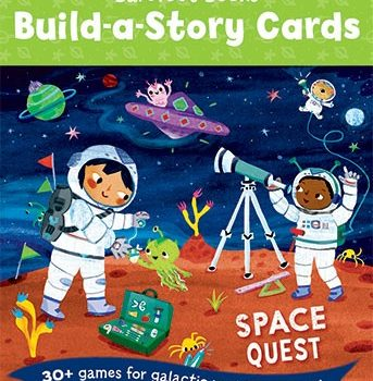 Children's Build A Story Cards, Space Quest