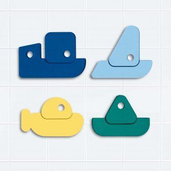 Rock The Boat Bath Puzzle – Quut Bath Toys