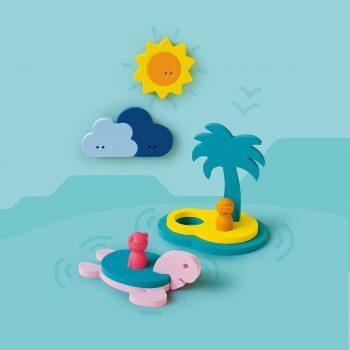 Treasure Island 3D Bath Puzzle by Quut Toys
