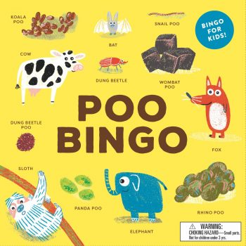 Family Board Game – Poo Bingo *Pre-order for Jan delivery*