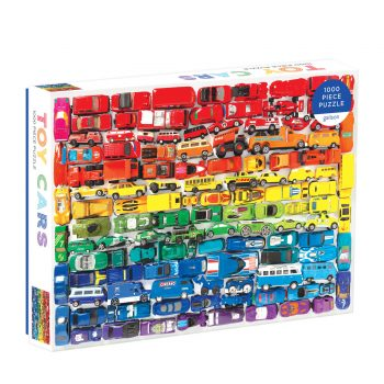 rainbow toy car puzzle