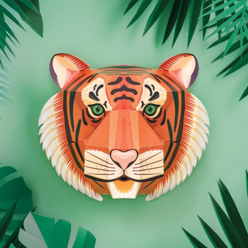Children's Tiger Craft Activity