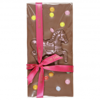 handmade pony chocolate bar