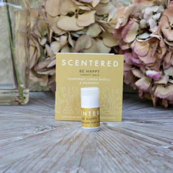 Scentered Happy Mini Aromatherapy Balm