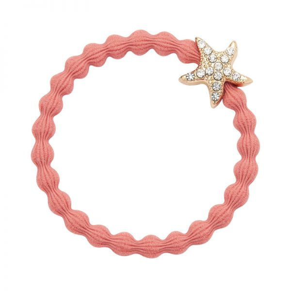 starfish coral by eloise hair tie